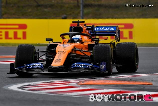Carlos Sainz en el GP de Hungría F1 2019 - SoyMotor