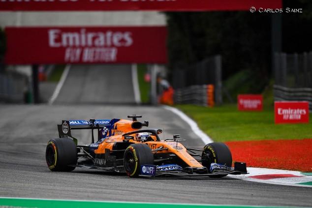 Carlos Sainz en el GP de Italia F1 2019 - SoyMotor