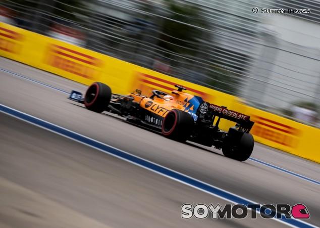 Carlos Sainz en el GP de Rusia 2019 - SoyMotor