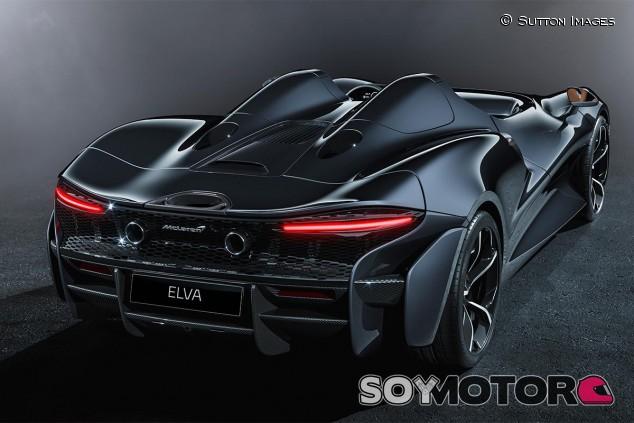 McLaren Elva en una imagen de archivo - SoyMotor.com