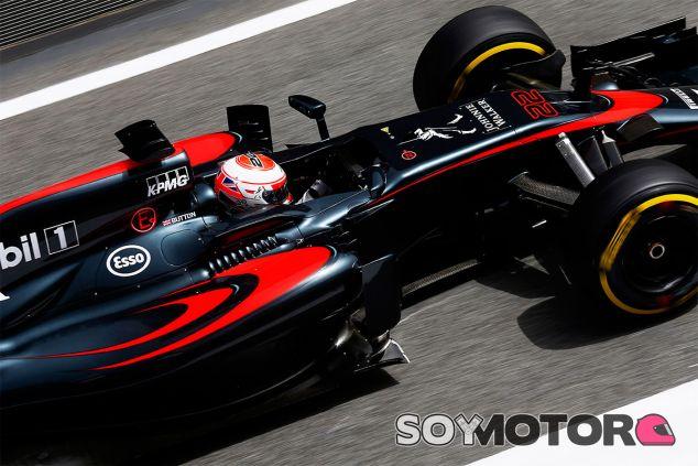 Jenson Button en el pasado Gran Premio de España - LaF1