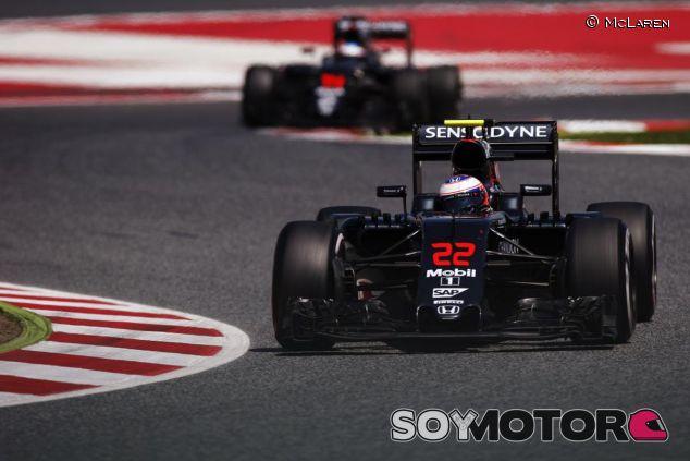 McLaren mejoró aerodinamicamente en el GP de España - LaF1
