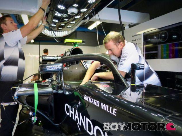 McLaren ya probó el halo con Button en Monza - LaF1