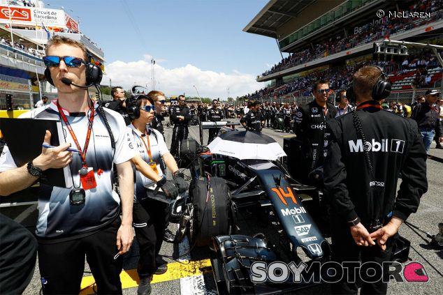 El monoplaza de Fernando Alonso antes del GP de España - LaF1