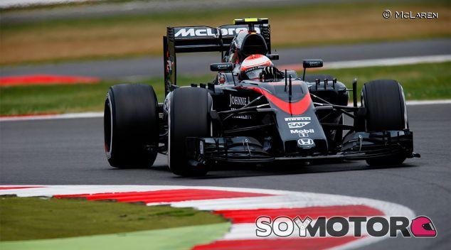 Jenson Button en el Gran Premio de Gran Bretaña - LaF1