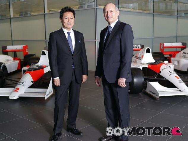 Arai habla de la unión de Honda con McLaren - LaF1.es