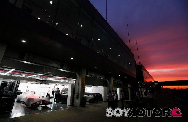 Box de McLaren en el pasado Gran Premio de Corea - LaF1