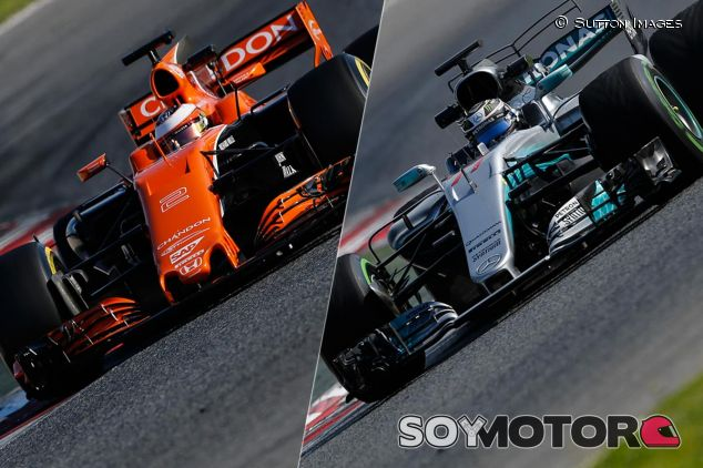 Stoffel Vandoorne y Valtteri Bottas en Barcelona - SoyMotor