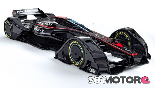 Así es el coche del futuro diseñado por el equipo de diseño de McLaren - LaF1