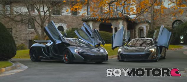 McLaren MSO HS y McLaren P1, pareja de reyes