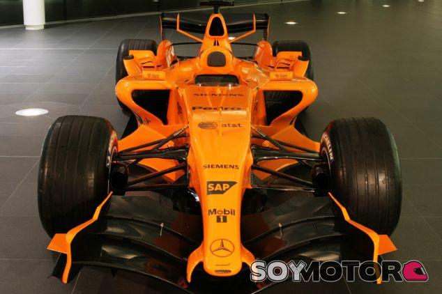 Versión naranja del McLaren MP4-21 - LaF1