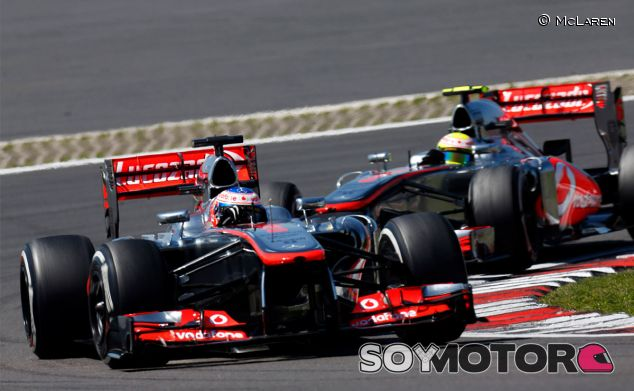 McLaren en el GP de Alemania F1 2013: Domingo