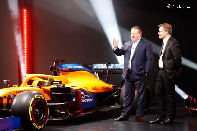 Presentación del McLaren MCL35 - SoyMotor.com