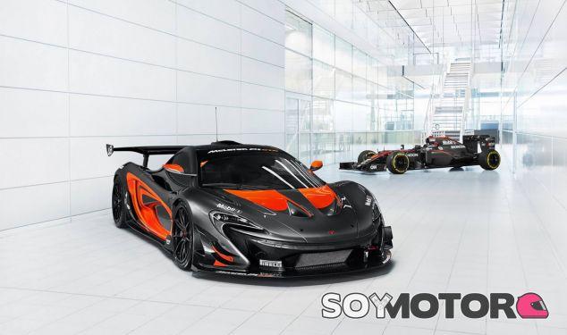 Ambos son máquinas de circuito, pero el McLaren MP4-31 y el P1 GTR tienen misiones muy distintas - SoyMotor