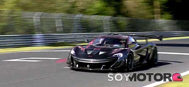 Un McLaren P1 GTR LM en Nürburgring - SoyMotor.com