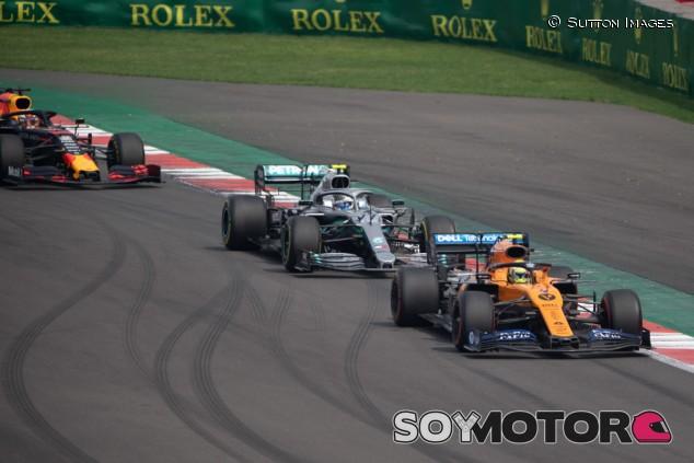 Lando Norris y Valtteri Bottas en el GP de México 2019 - SoyMotor.com
