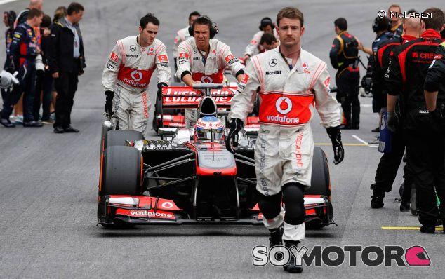 Jenson Button quiere mejorar en 2014 y conseguir un podio - LaF1
