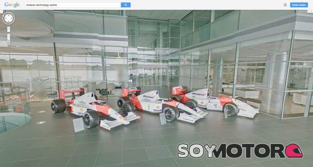 El McLaren Technology Centre por dentro gracias a Google Streetview