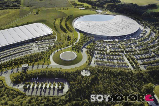 El McLaren Technology Centre en Woking - LaF1es