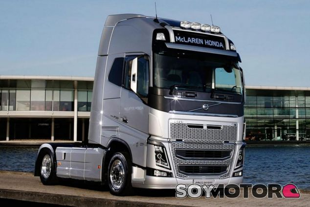 Éste será el nuevo camión que usará McLaren - LaF1