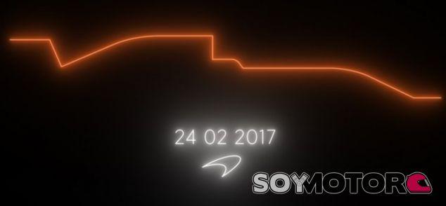 McLaren coquetea con el color naranja en la promoción del MP4-32 - SoyMotor.com
