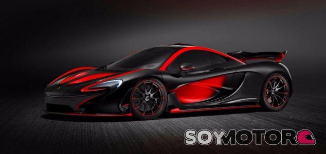 McLaren P1 con colores similares al MP4-30 - SoyMotor
