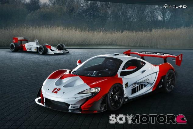 McLaren P1 GTR Senna - SoyMotor.com