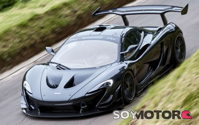 McLaren P1 LM: la bestia del circuito pisa la calle