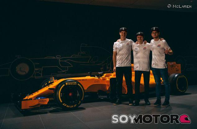 Olli Pahkala, Enzo Bonito y Bono Huis – SoyMotor.com
