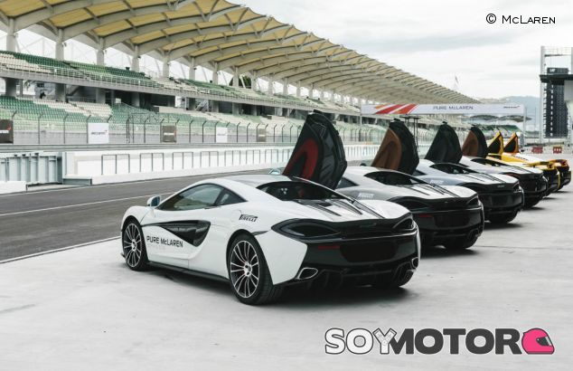 La flota de superdeportivos de McLaren – SoyMotor.com