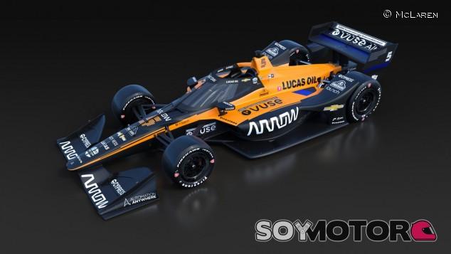 Arrow McLaren SP presenta el primer coche de IndyCar de su unión - SoyMotor.com
