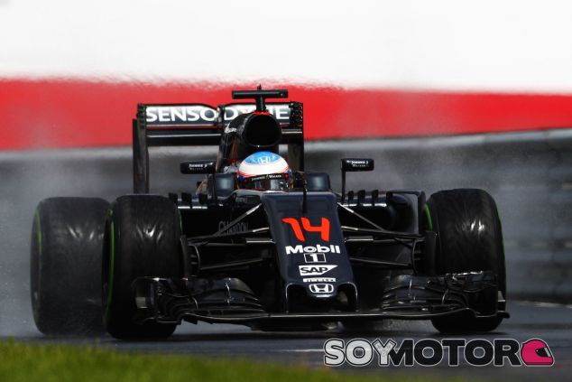 Fernando Alonso en el Red Bull Ring - LaF1