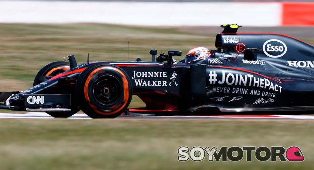 Jenson Button en el pasado Gran Premio de Gran Bretaña - LaF1