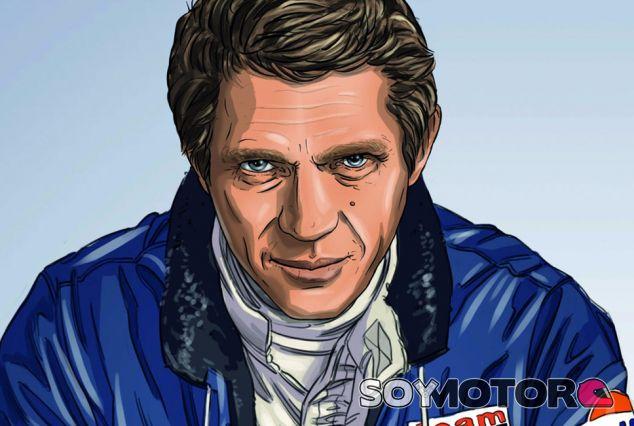 Un cómic de culto: Steve McQueen in Le Mans - SoyMotor.com