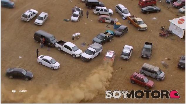 Captura del vídeo de Meeke en México – SoyMotor.com