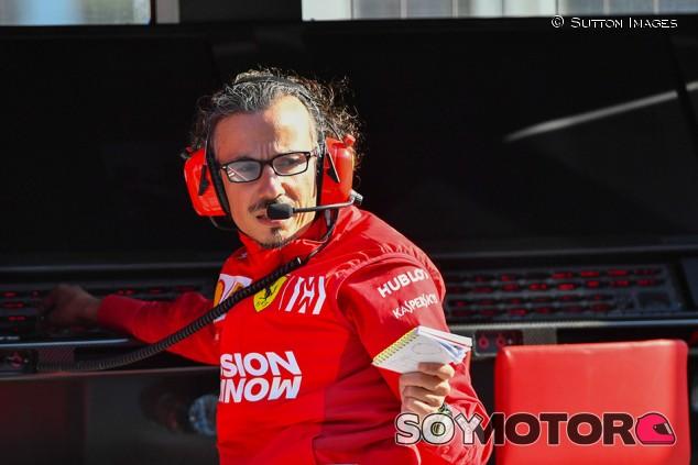 """Laurent Mekies: """"En Ferrari estamos por detrás en todo"""""""