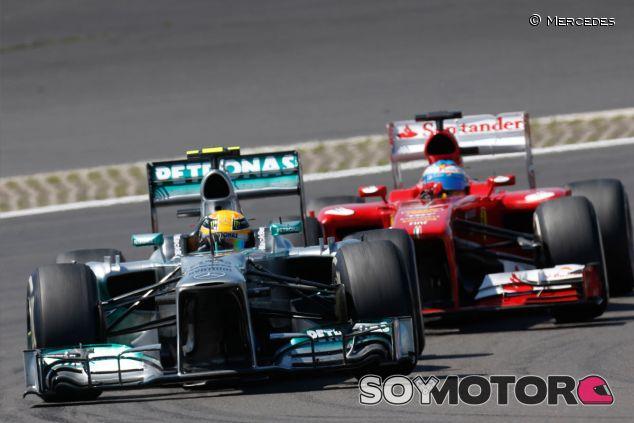 Mercedes podrá acceder a los datos de los test de Silverstone