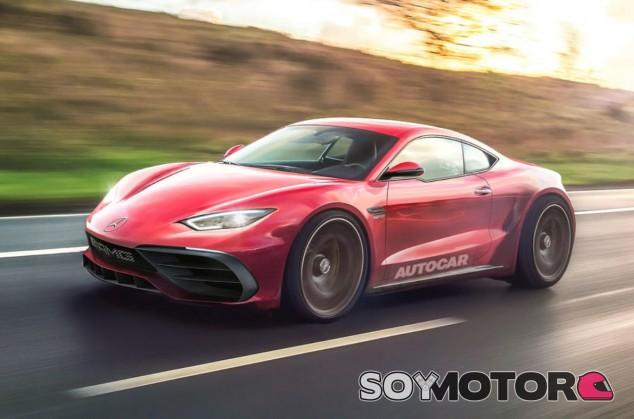 Mercedes prepara un rival para los Porsche Boxster y Cayman - SoyMotor.com