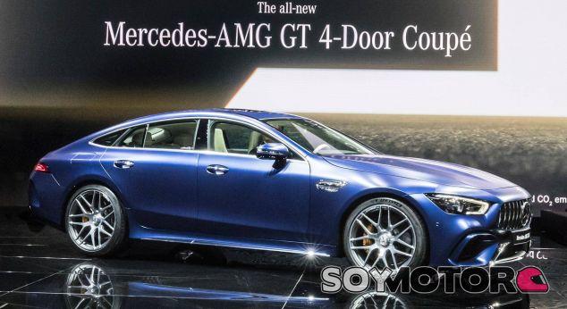 Mercedes amg GT 4 Door Coupé - SoyMotor.com