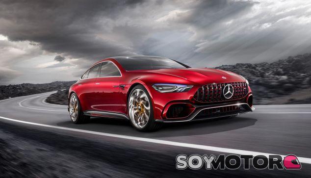 El Mercedes-AMG GT Concept fue el prototipo en el que se dio a conocer este motor V8 híbrido - SoyMotor