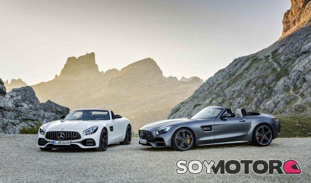 El Mercedes AMG GT Roadster en todo su esplendor - SoyMotor