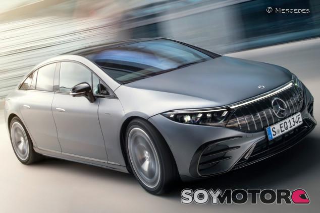 Mercedes-AMG EQS 53 4MATIC+ 2022: el debut eléctrico de AMG - SoyMotor.com