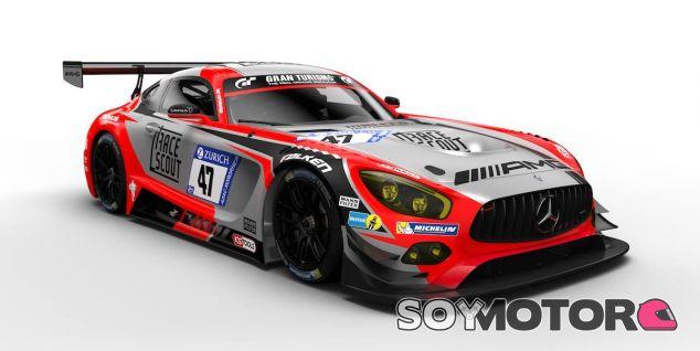 El coche de Juncadella en las 24h de Nürburgring 2018 – SoyMotor.com
