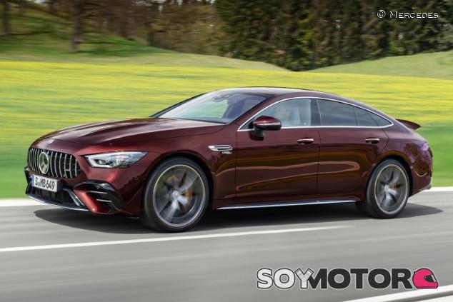 Mercedes-AMG GT 4 puertas Coupé 2021: cuestión de detalles - SoyMotor.com