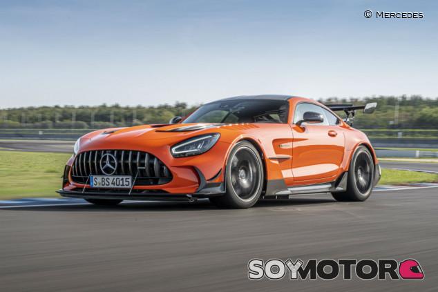 Mercedes-AMG GT Black Series: V8 con 730 caballos de potencia - SoyMotor.com