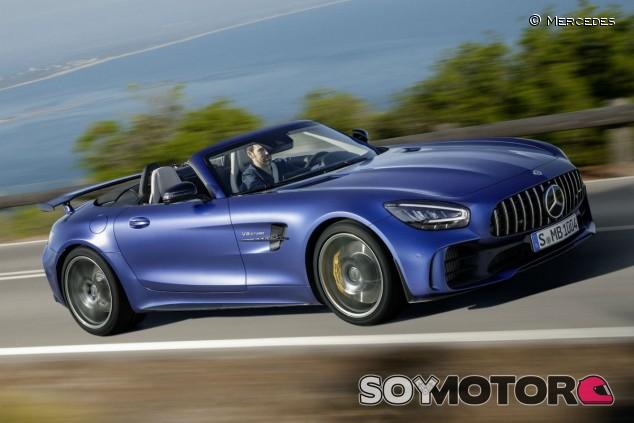 El Mercedes-AMG GT R Roadster llega a España desde 250.000 euros - SoyMotor.com