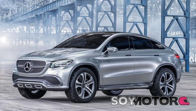Mercedes Coupé SUV - SoyMotor.com