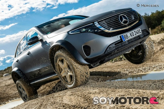 Mercedes-Benz EQC 4x4² Concept: el eléctrico se vuelve todoterreno - SoyMotor.com