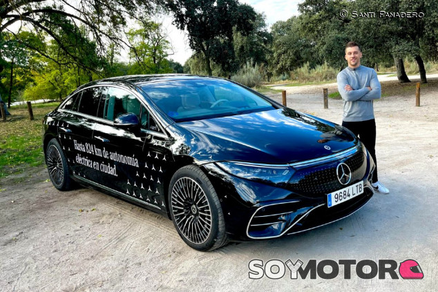 Mercedes-Benz EQS 2022: la berlina eléctrica de la estrella - SoyMotor.com