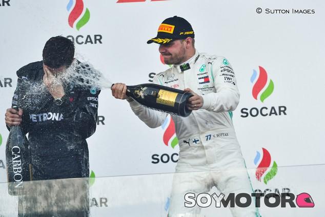 F1 Power Rankings tras Bakú: Bottas y Verstappen, al frente; Sainz, noveno - SoyMotor.com
